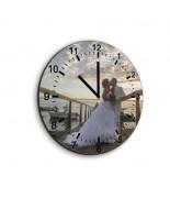 Horloge verre