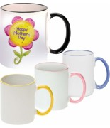 Mugs bicolores