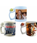 Mug basketball/football/smiley