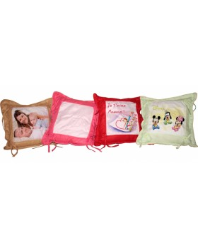 Coussin bouton