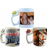 Mug basketball/football/smiley