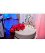 Cake Toper la belle et la bête