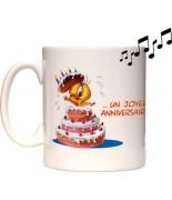 "Mug mucical ""Happy Birthday"""