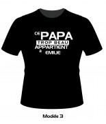 Tee Shirt fête des pères